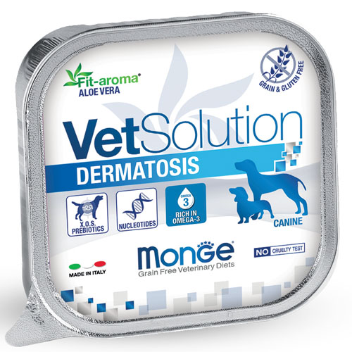 Vet Solution Canine Wet Alutray Dermatosis 150g